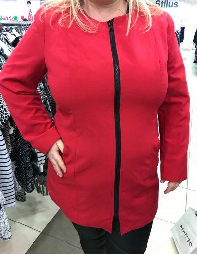 Vásárlás stylisstal: Kabát vásárlás plus size méretben