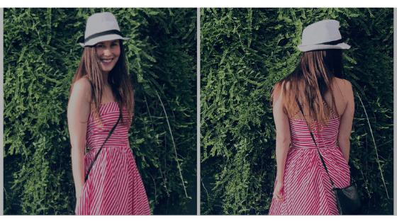 Nyár színtípus nyári ruhában