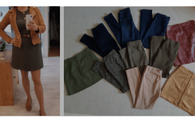Vásárlás stylisttal: Ősz színtípussal őszi ruhákat vásároltunk