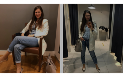 Mom jeans elegánsan